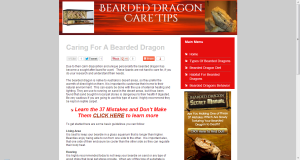 Visit the live site at Bearded Dragon Care